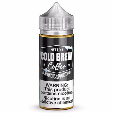 Nitro's Cold Brew - Almond Cappuccino eJuice - 100ml