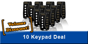 10-pack of Keypoint Interactive 5-Button Keypads