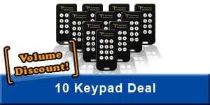 10-Pack of Keypoint Interactive Keypads