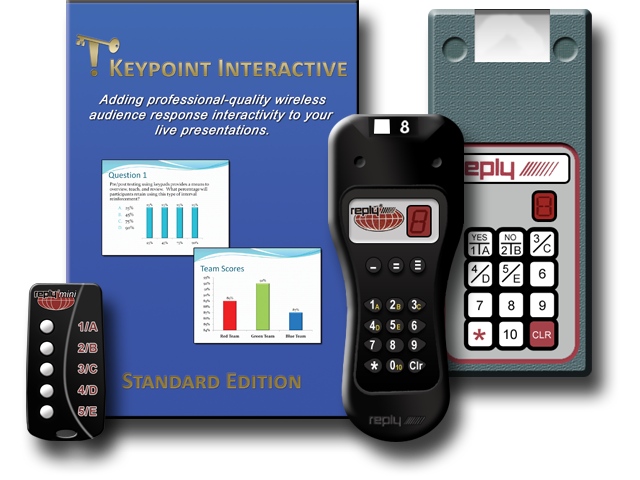 Keypoint Interactive Standard Edition Audience Response Software for Reply CRS9XX Transceivers