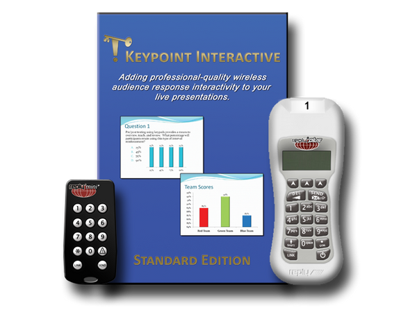 Keypoint Interactive Standard Edition Audience Response Software for Reply WRS9XX Transceivers