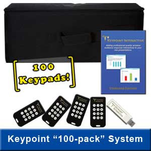 100-Keypad System Featuring 12-Button Keypads