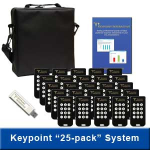 25-Keypad System Featuring 12-Button Keypads