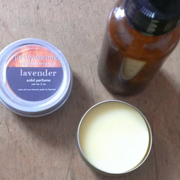 lavender - solid perfume fragrance -body- prettydreamer - 1