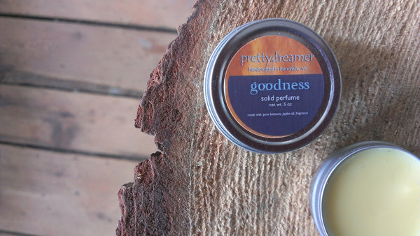 goodness:  solid perfume / fragrance -body- prettydreamer - 2