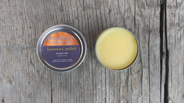 pure beeswax wood polish finish -- prettydreamer - 3
