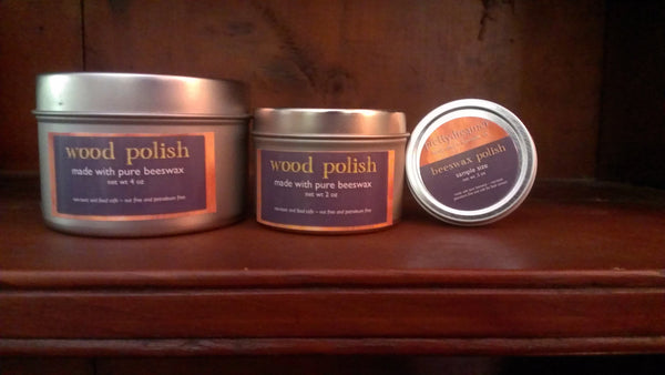 pure beeswax wood polish finish -- prettydreamer - 2