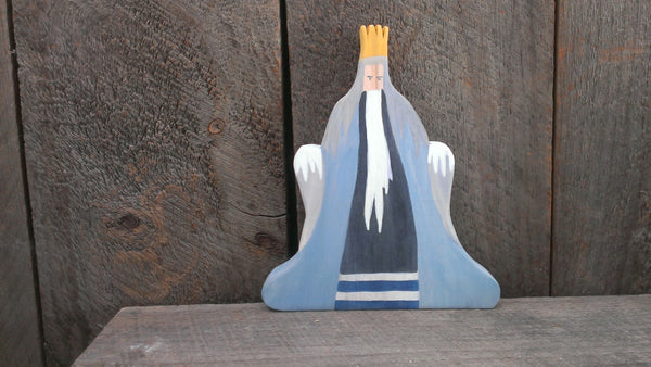 king winter/ waldorf wooden figure -waldorf- prettydreamer - 2
