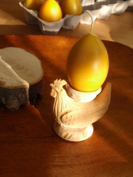 golden egg beeswax candle -candles- prettydreamer - 4