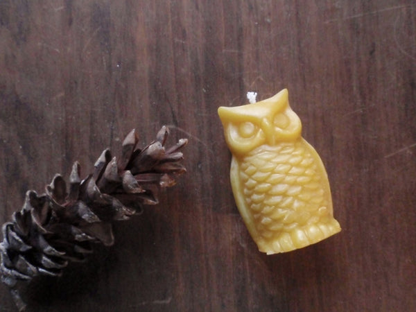 woodland owl beeswax candles -candles- prettydreamer - 4