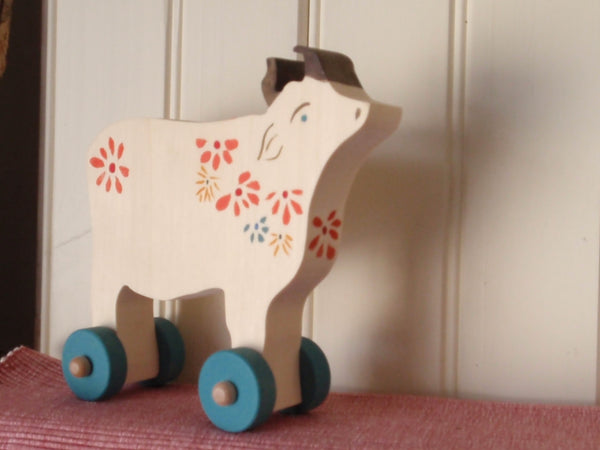 bucolic push toy cow -toys- prettydreamer - 2