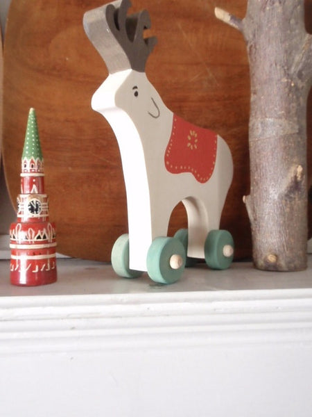 folkloric reindeer push toy -toys- prettydreamer - 2