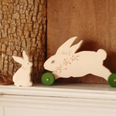frolicking push toy rabbit -toys- prettydreamer - 1