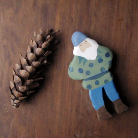 blueberry king / waldorf wooden figure -waldorf- prettydreamer - 1
