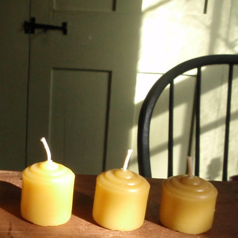 pure beeswax votive candles -candles- prettydreamer - 1