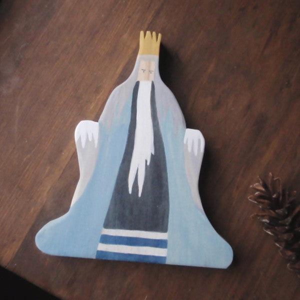 king winter/ waldorf wooden figure -waldorf- prettydreamer - 1