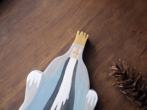 king winter/ waldorf wooden figure -waldorf- prettydreamer - 5