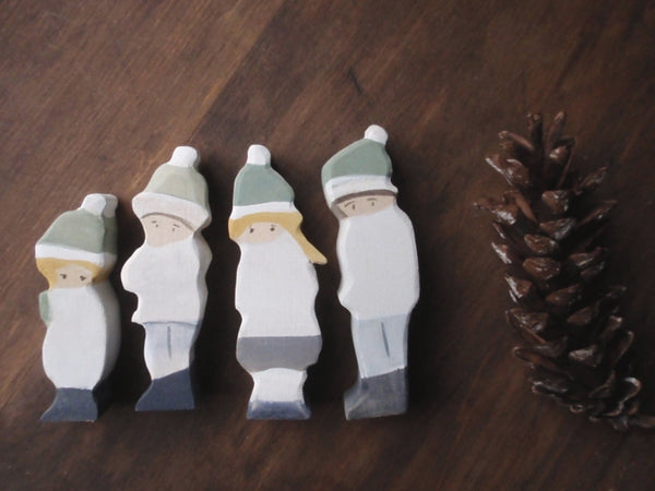 winter in the forest | waldorf figures -waldorf- prettydreamer - 4