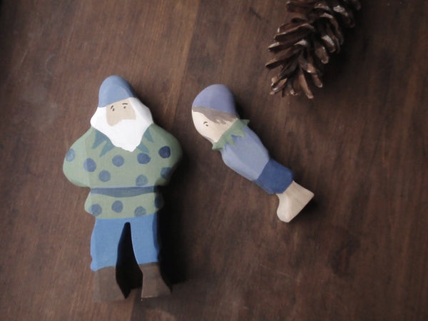 blueberry king / waldorf wooden figure -waldorf- prettydreamer - 3