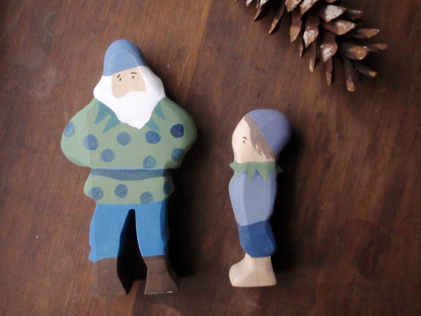 blueberry king / waldorf wooden figure -waldorf- prettydreamer - 4