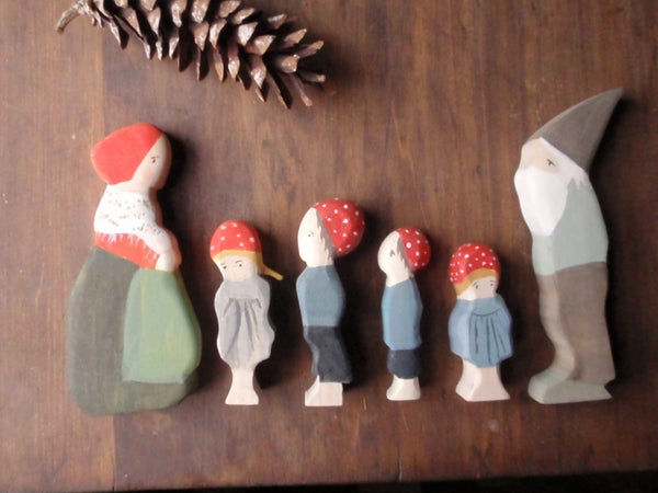 children of the forest family | waldorf doll set -waldorf- prettydreamer - 5