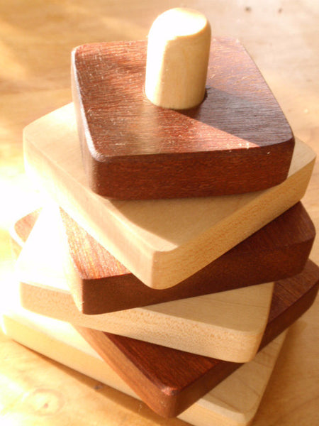 simple wooden toy  stacker -toys- prettydreamer - 5