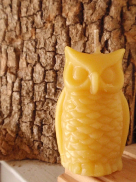 woodland owl beeswax candles -candles- prettydreamer - 3