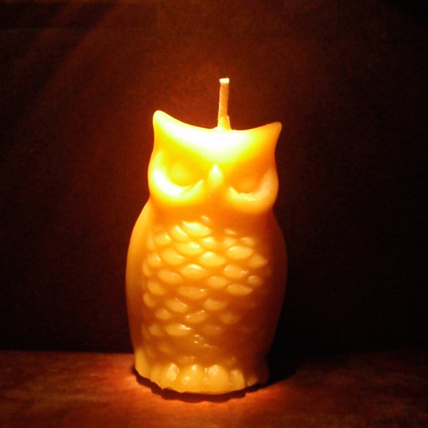 woodland owl beeswax candles -candles- prettydreamer - 5