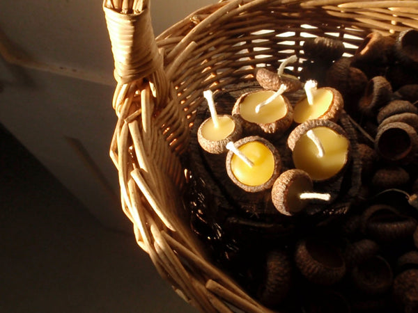 woodland acorn candles -home- prettydreamer - 3