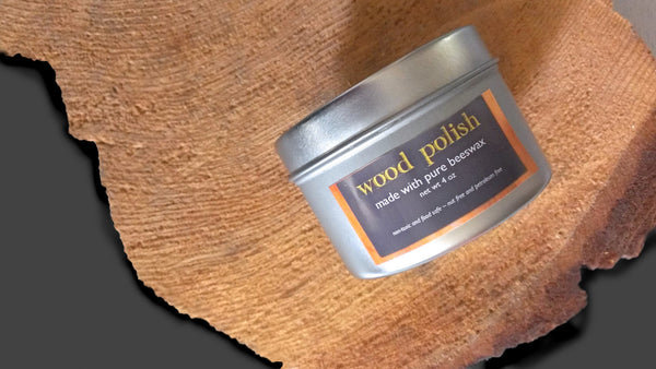 pure beeswax wood polish finish -- prettydreamer - 4