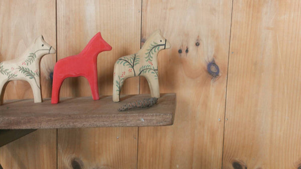 modern red dala horse -home- prettydreamer - 3