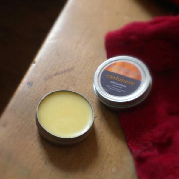 Cashmere: Solid Perfume / Fragrance Body