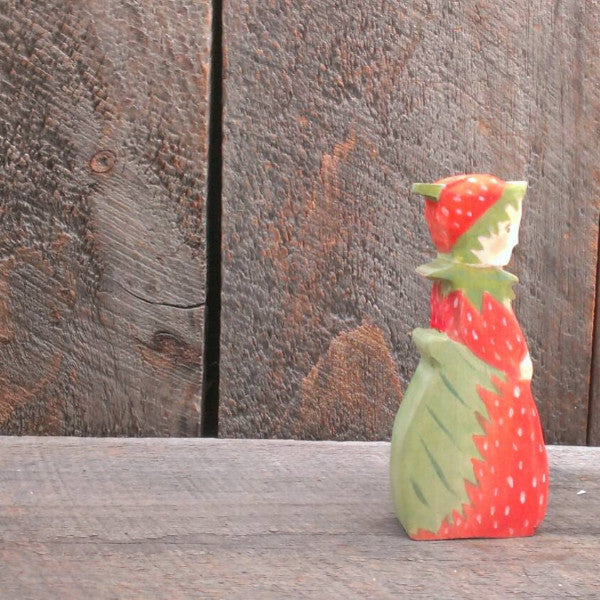 mrs. strawberry/ waldorf wooden figure -waldorf- prettydreamer - 2
