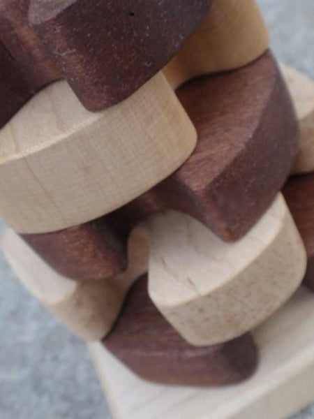 wooden pinwheel stacking toy -toys- prettydreamer - 5