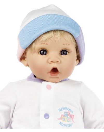 "Sweet Baby (Blonde/Blue)  Newborn Nursery 19"" Baby Doll"