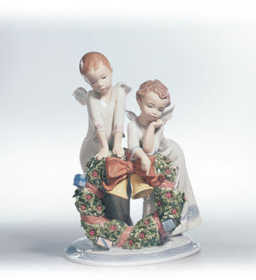 Lladro A HEAVENLY CHRISTMAS
