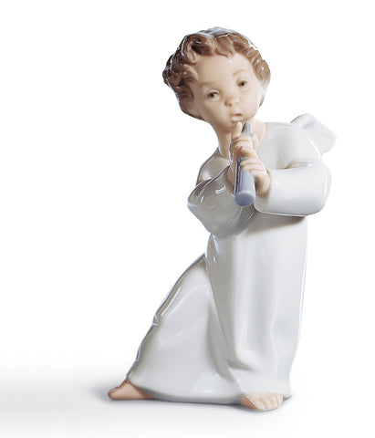 Lladro, ANGEL WITH FLUTE