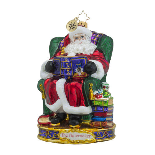 Radko, Nutcracker Suite, Our Story Begins Ornament, 1018578
