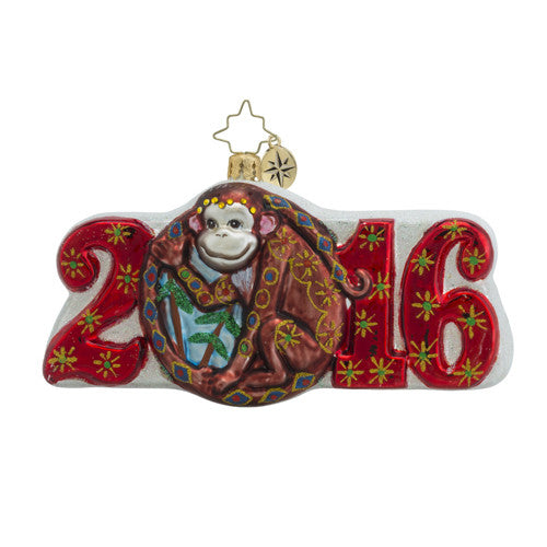 Year of the Monkey, Dated for 2016