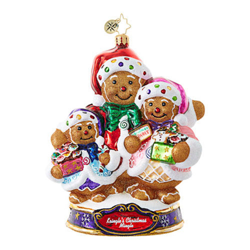 Ornament of the Month - Bearing Sweet Treats, January