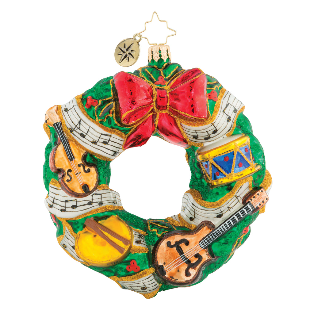 Radko, Rhythmic Christmas Wreath, 1019232