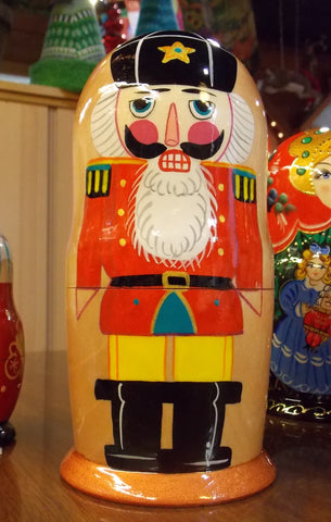 Nesting Nutcracker Dolls