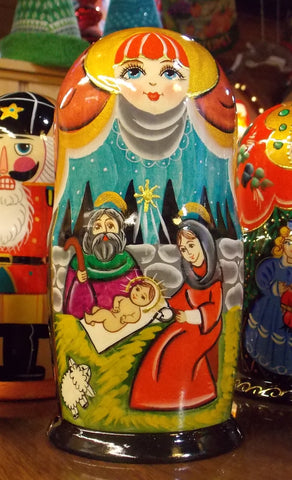 Matryoshka Nativity Scene