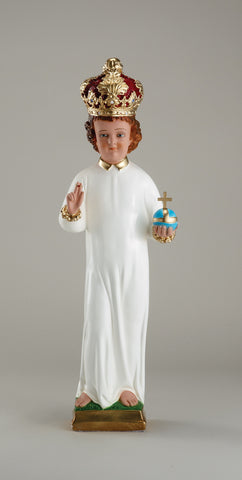Infant of Prague Plaster Statues