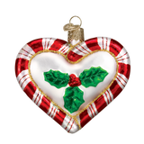 OWC Peppermint Heart Ornament back, 30020