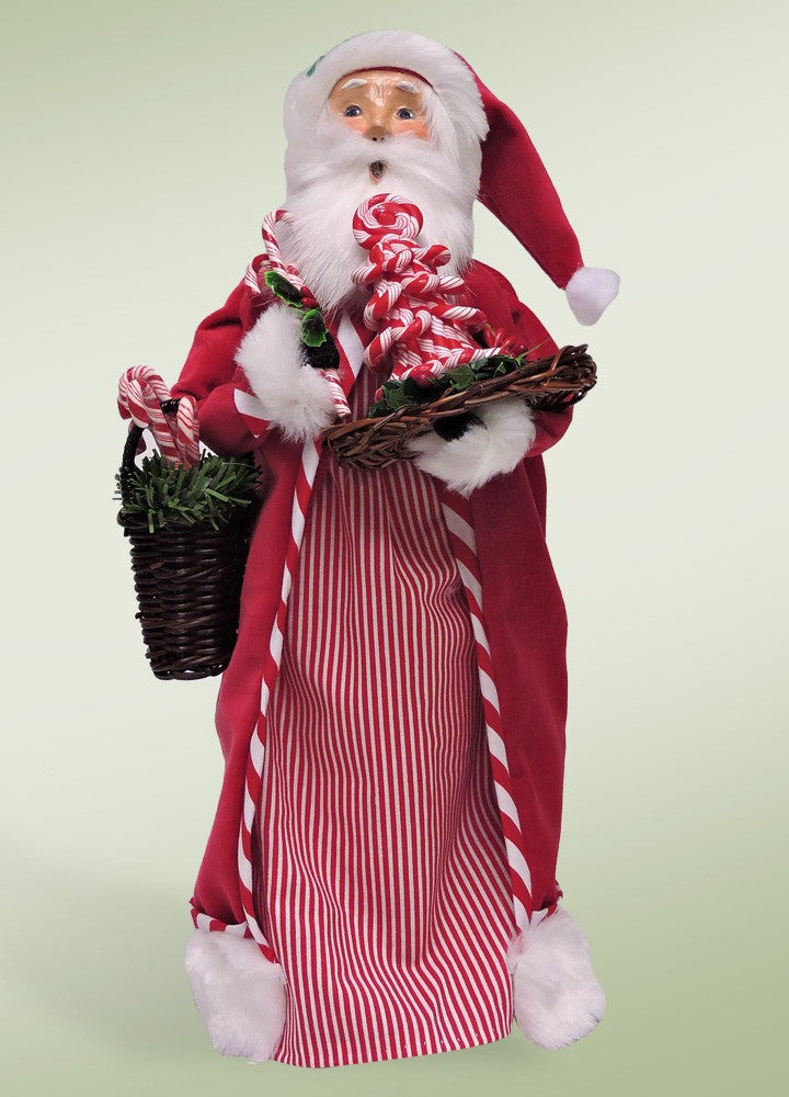 Candy Cane Santa, Byers Choice, 3163