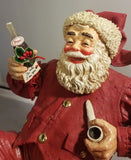 Possible Dreams Clothtiques Rockwell Pepsi Santa Clause face