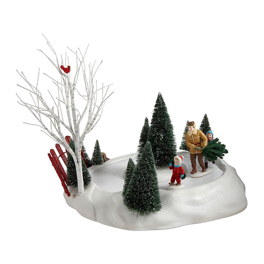 Department 56 Bringing Home The Tree