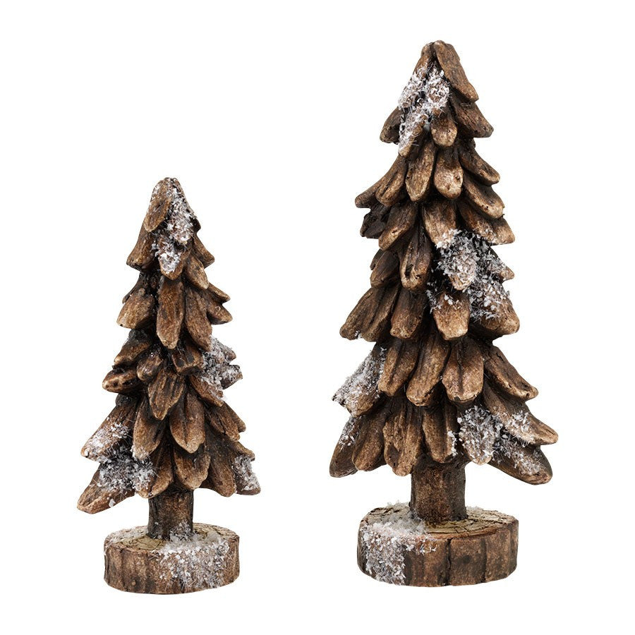 Department 56 Black Forest Pines Set of 2