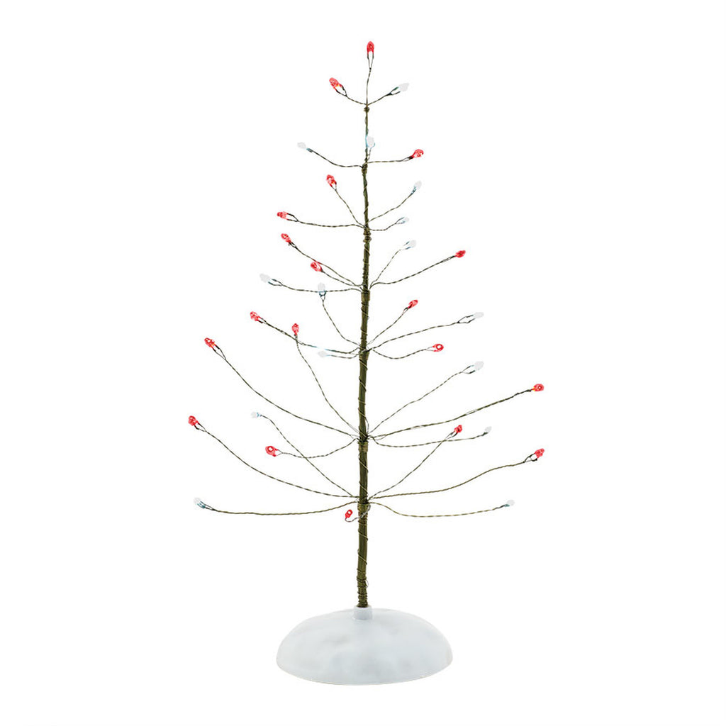 VA, Red & White Twinkle Brite Tree, 4038812, Department 56